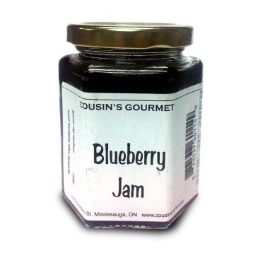 Cousin's Gourmet Blueberry Jam