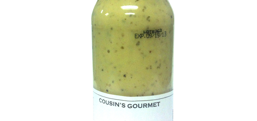 Cousin's Gourmet Lemon Garlic Marinade