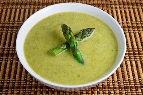 Asparagus Brie Soup