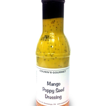 Cousin's Gourmet Mango Poppy Seed Dressing