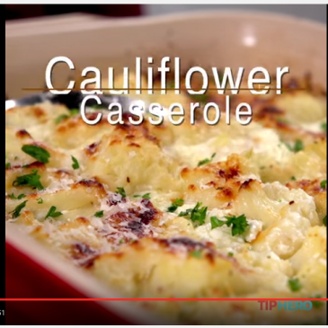 Cauliflower Casserole