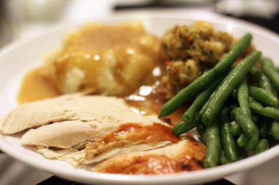 corporate catering turkey dinner
