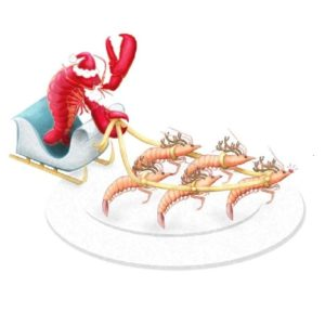 Christmas Seafood Menu